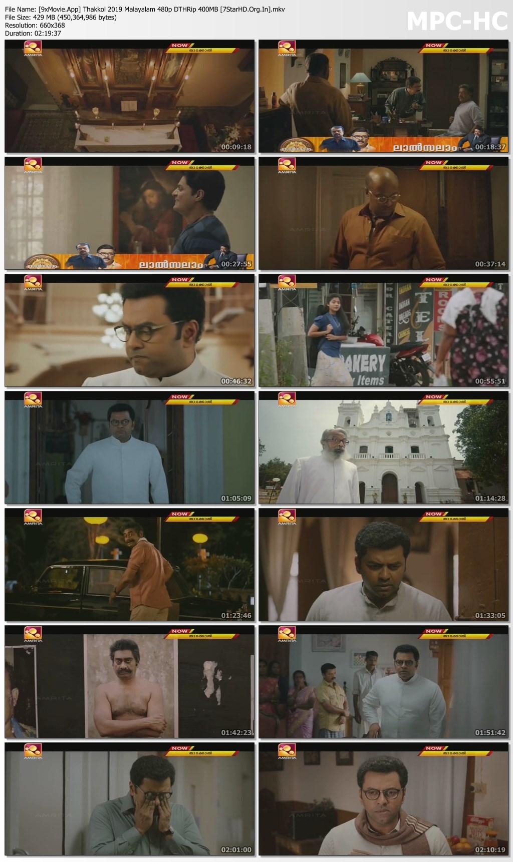 Thakkol 2019 Malayalam 480p DTHRip x264 400MB