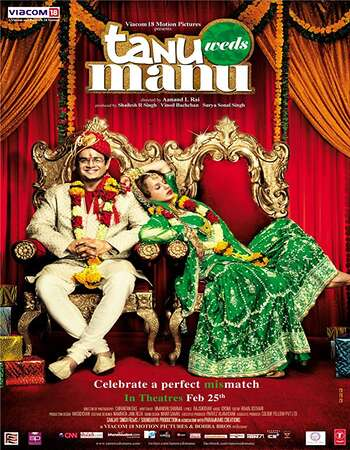 Tanu Weds Manu 2011 Full Hindi Movie BRRip Free Download