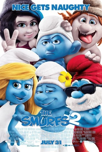 The Smurfs 2 2013 Dual Audio Hindi English BluRay 720p 480p Movie Download