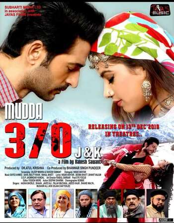 Mudda 370 J&K 2019 Full Hindi Movie 720p HDRip Download