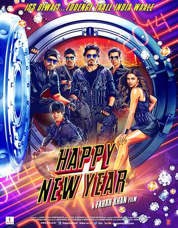 Happy New Year 2014 Full Hindi Movie BRRip Free Download