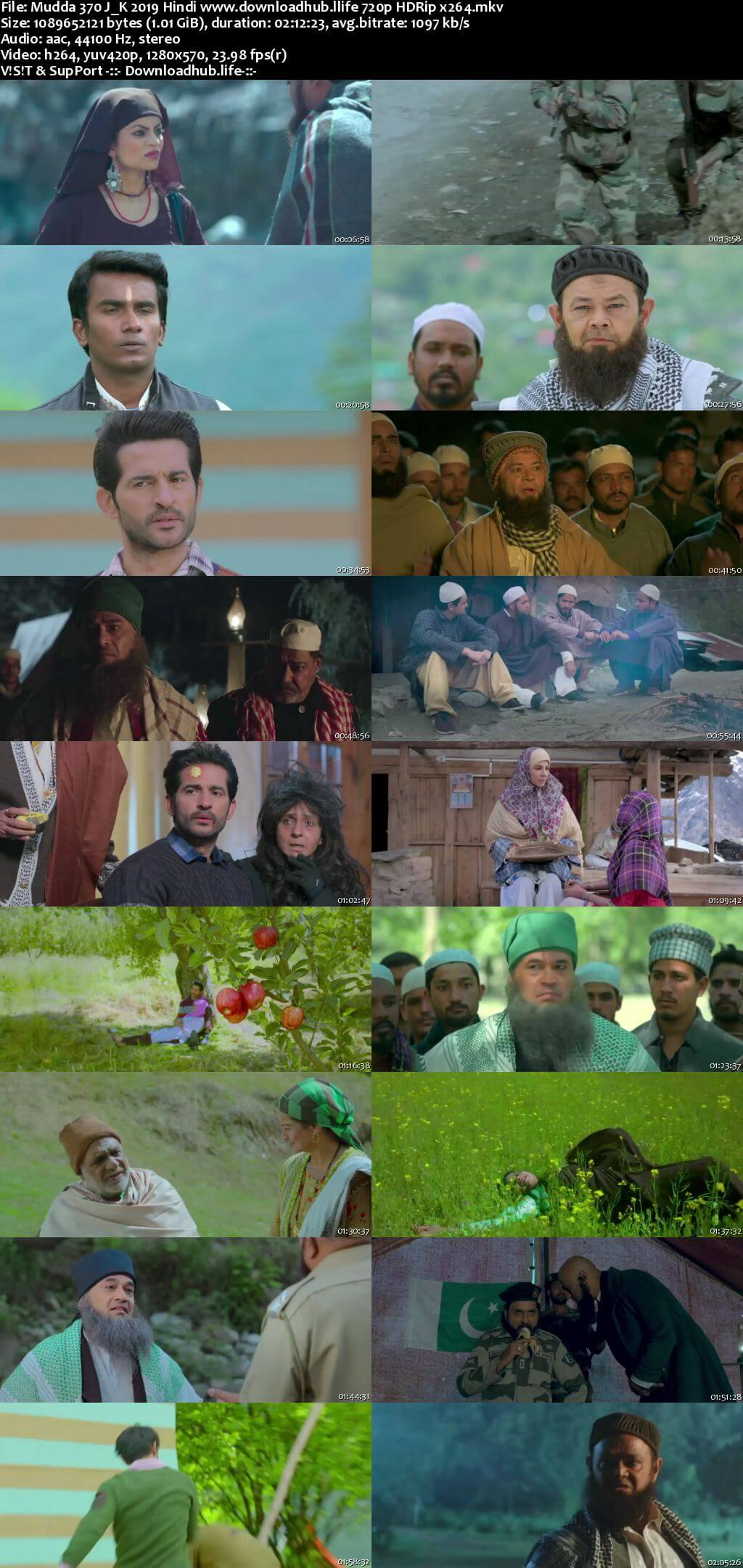 Mudda 370 J&K 2019 Hindi 720p HDRip x264