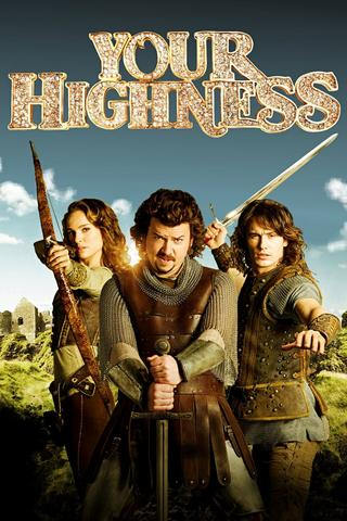Your Highness 2011 Hindi Dual Audio 480p BluRay x264 300MB