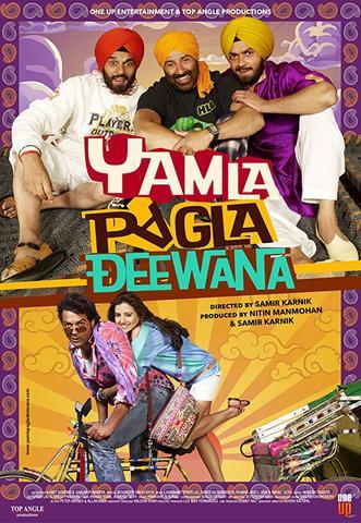 Yamla Pagla Deewana 2011 Hindi 480p BluRay x264 450MB