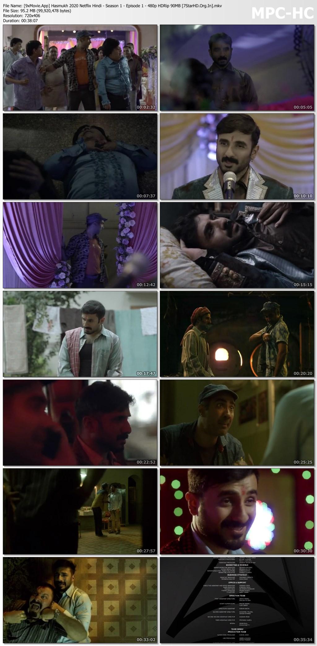 Hasmukh 2020 Netflix Hindi S01 Web Series 480p HDRip x264 800MB