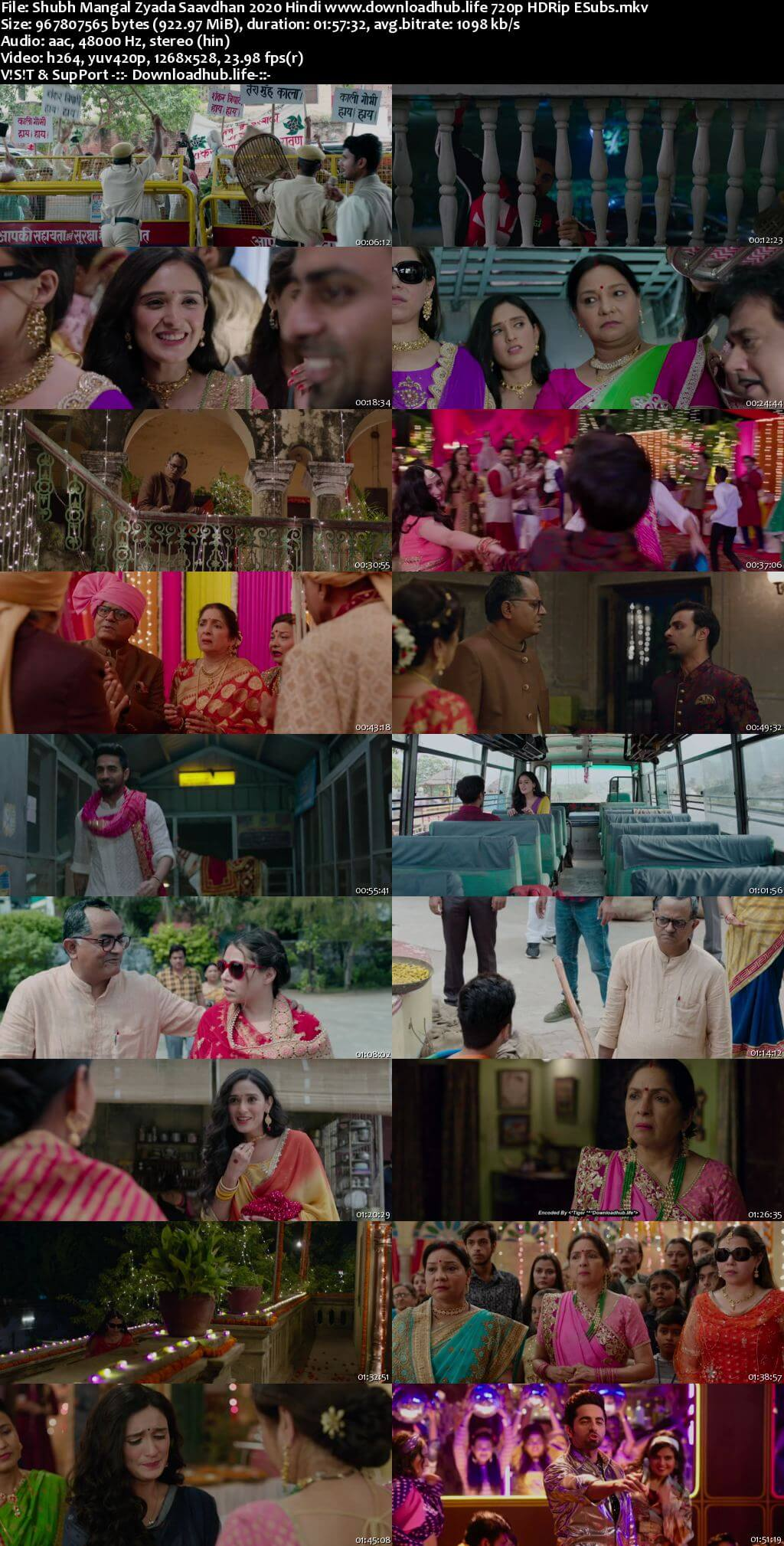 Shubh Mangal Zyada Saavdhan 2020 Hindi 720p HDRip ESubs