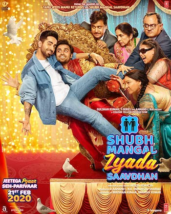 Shubh Mangal Zyada Saavdhan 2020 Hindi Movie Download
