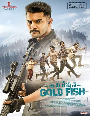 Operation Gold Fish 2019 UNCUT Hindi Dual Audio HDRip Full Movie 720p HEVC Free Download