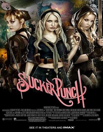 Sucker Punch 2011 Hindi Dual Audio BRRip Full Movie 720p HEVC Download