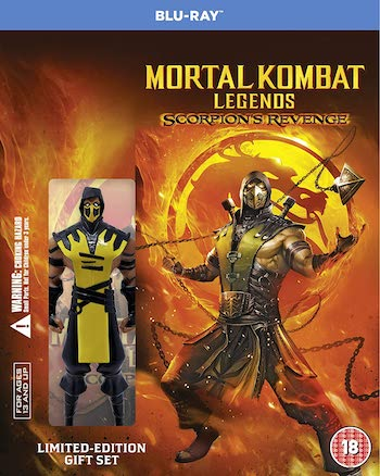 Mortal Kombat Legends Scorpions Revenge 2020 English 720p BRRip 650MB ESubs