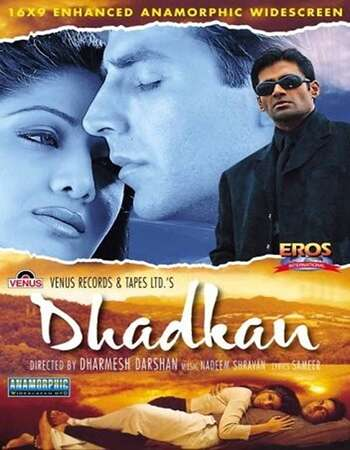 Dhadkan 2000 Full Hindi Movie 720p HEVC HDRip Download