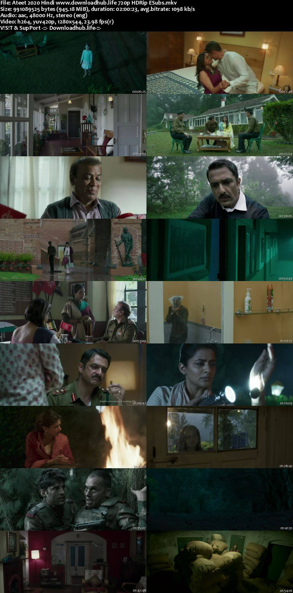 Ateet 2020 Hindi 720p HDRip ESubs