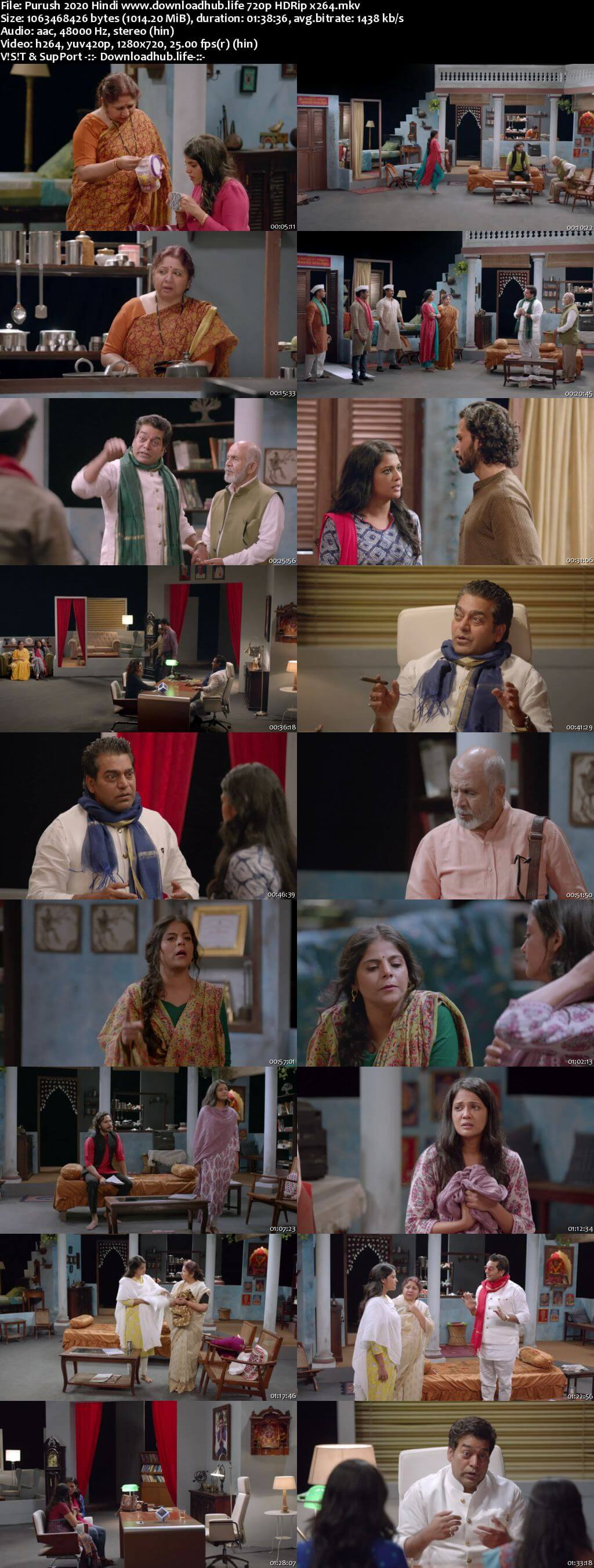 Purush 2020 Hindi 720p HDRip x264