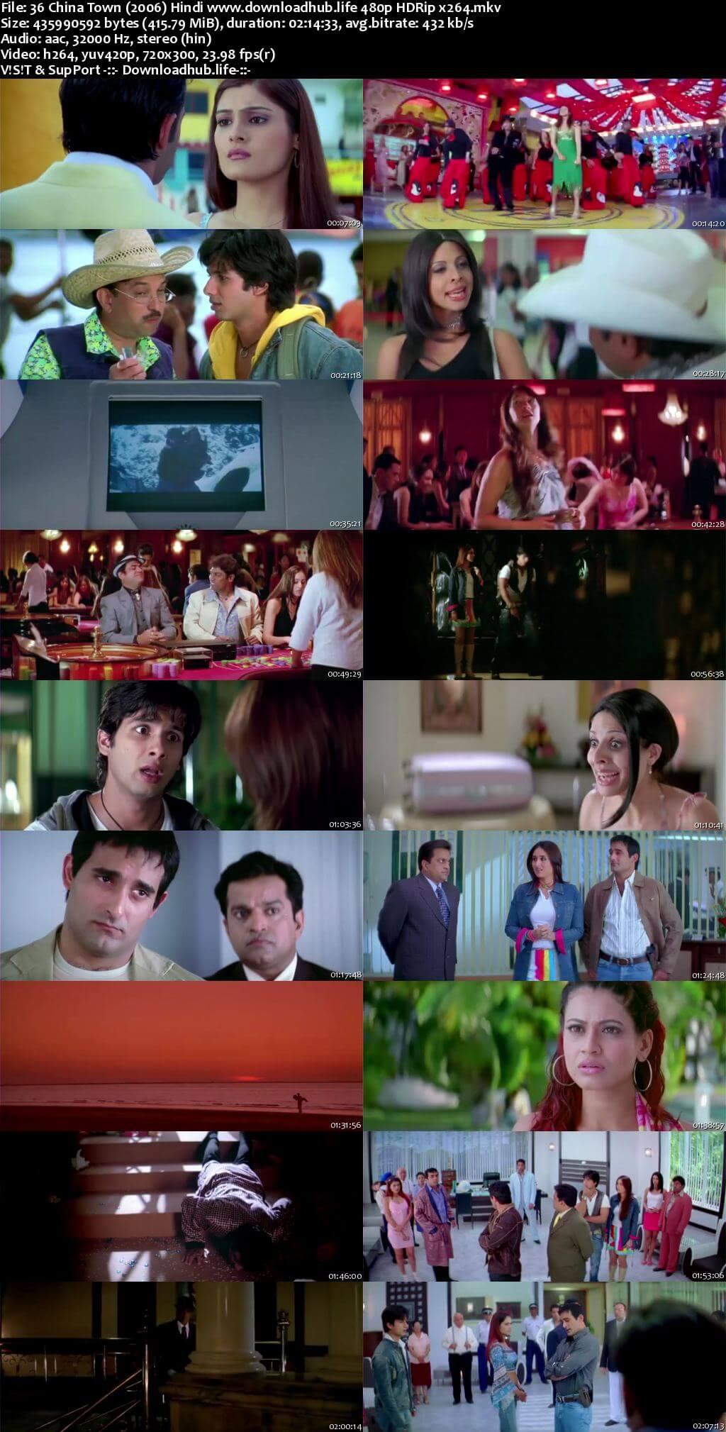 36 China Town 2006 Hindi 400MB HDRip 480p