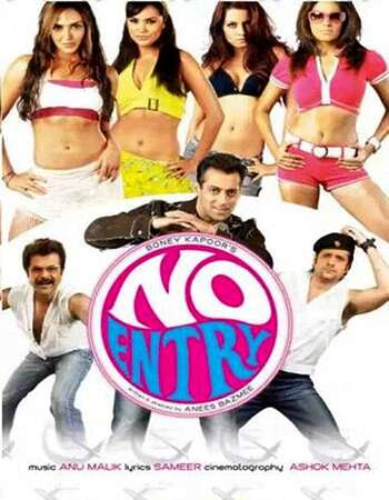 No Entry 2005 Full Hindi Movie BRRip Free Download