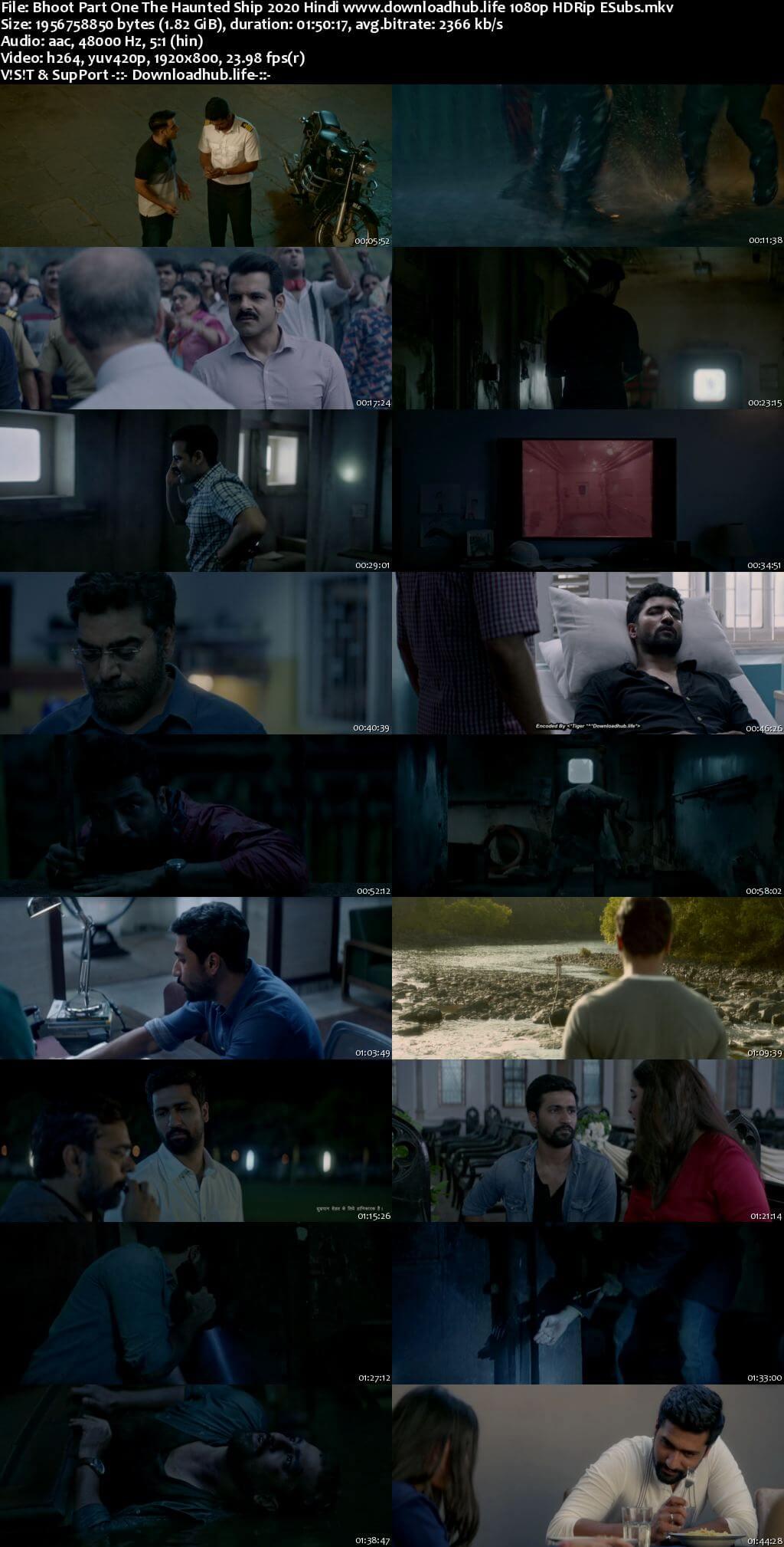 Bhoot Part One The Haunted Ship 2020 Hindi 1080p HDRip ESubs