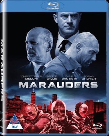 Marauders 2016 Dual Audio ORG Hindi 480p BluRay 300MB