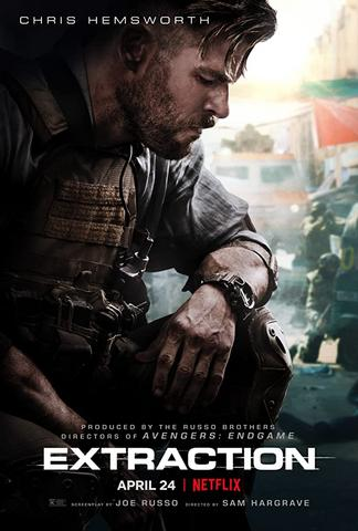 Extraction 2020 Netflix Hindi ORG Dual Audio 480p HDRip x264 400MB ESubs
