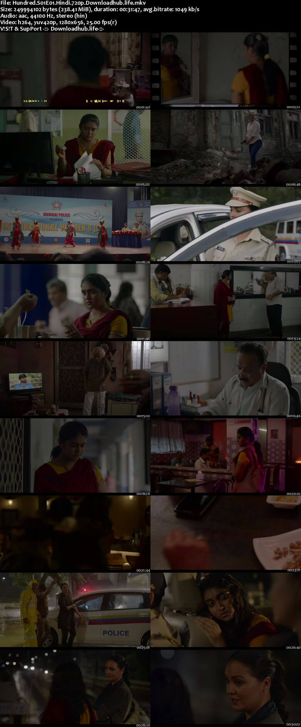 Hundred 2020 Hindi Season 01 Complete 720p HDRip x264