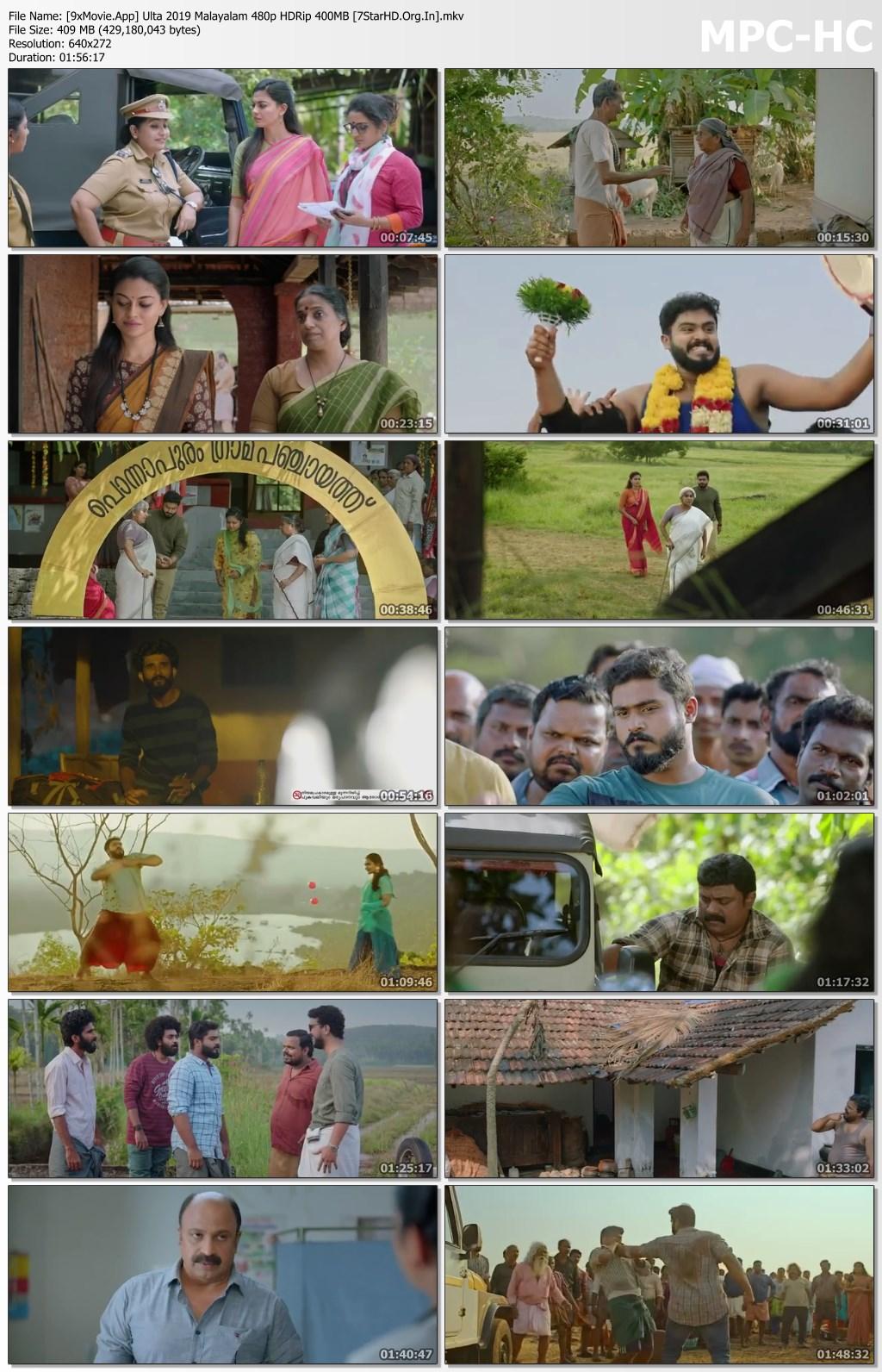 Ulta 2019 Malayalam 480p HDRip x264 400MB