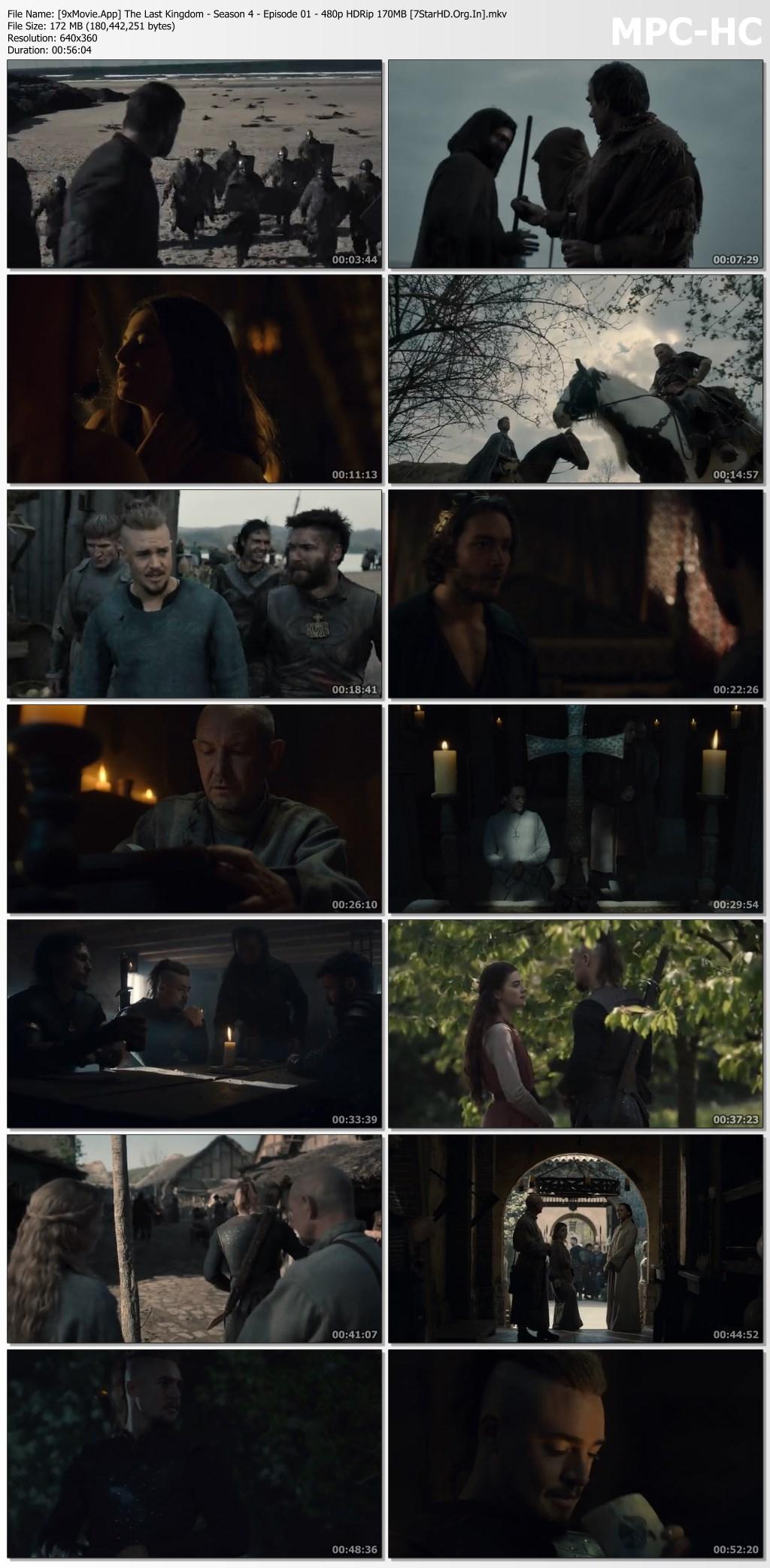 The Last Kingdom 2020 Netflix Hindi S04 Dual Audio 480p HDRip x264 1.4GB MSubs