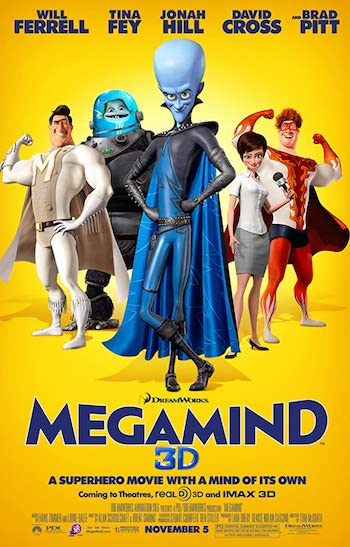 Megamind 2010 Dual Audio Hindi English BluRay 720p 480p Movie Download