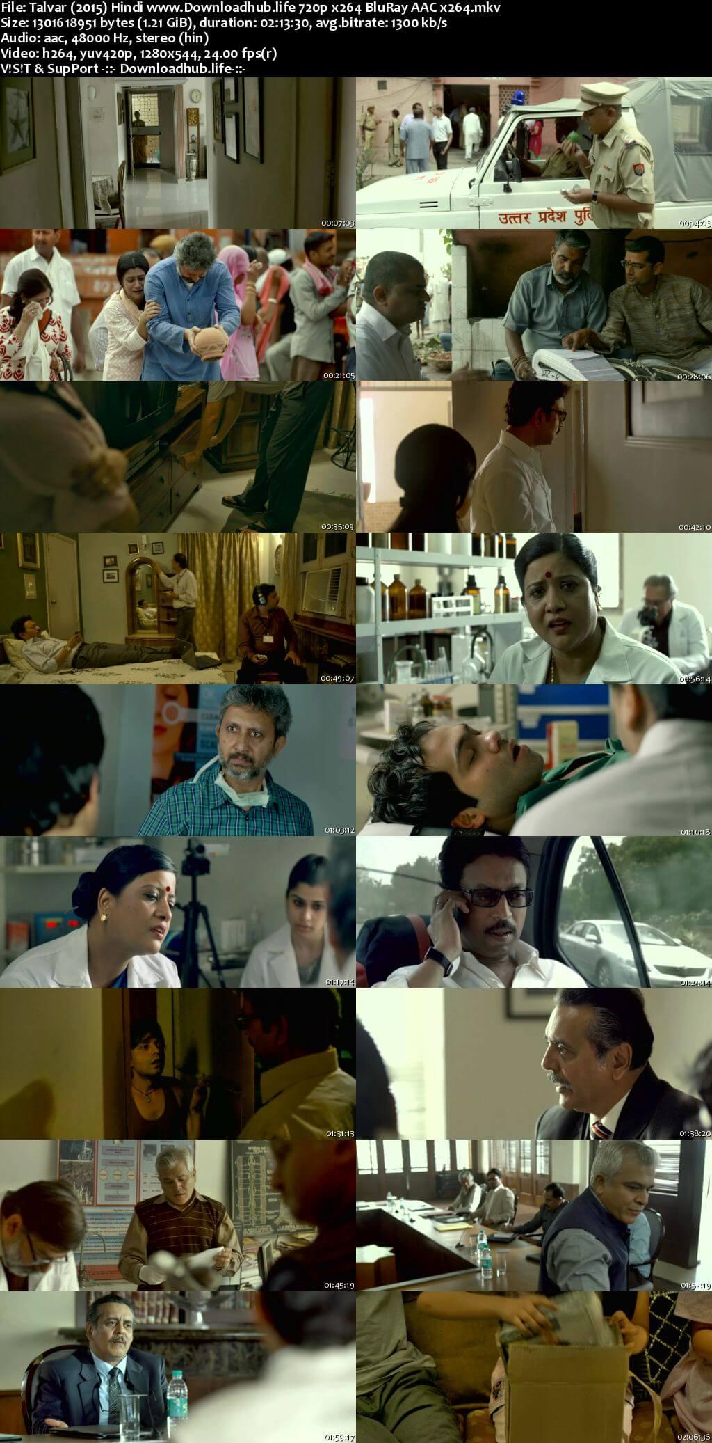 Talvar 2015 Hindi 720p BluRay x264