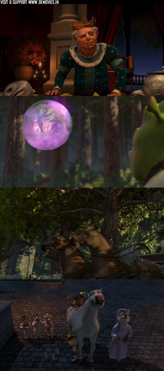 Shrek 2 (2004) Dual Audio Hindi 720p BluRay 800MB