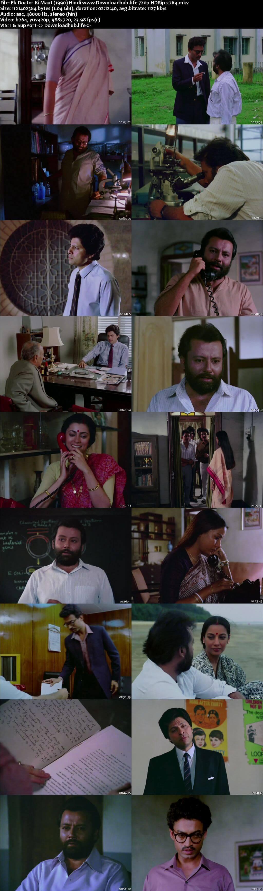 Ek Doctor Ki Maut 1990 Hindi 720p HDRip x264