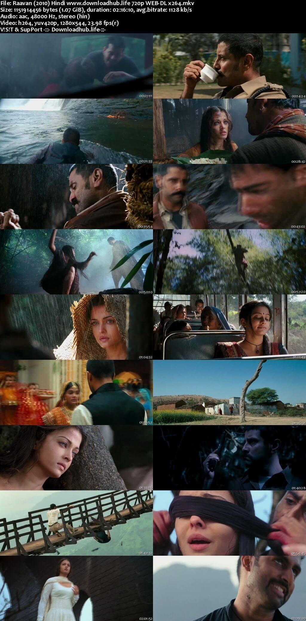 Raavan 2010 Hindi 720p HDRip x264