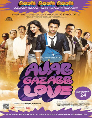 Ajab Gazabb Love 2012 Full Hindi Movie 720p HDRip Download