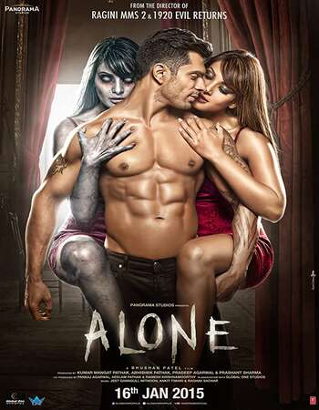 Alone 2015 Full Hindi Movie 720p HDRip Download