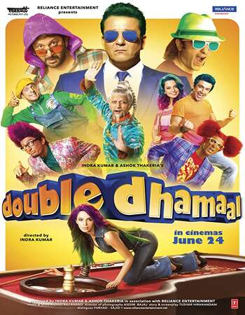 Double Dhamaal 2011 Full Hindi Movie BRRip Free Download