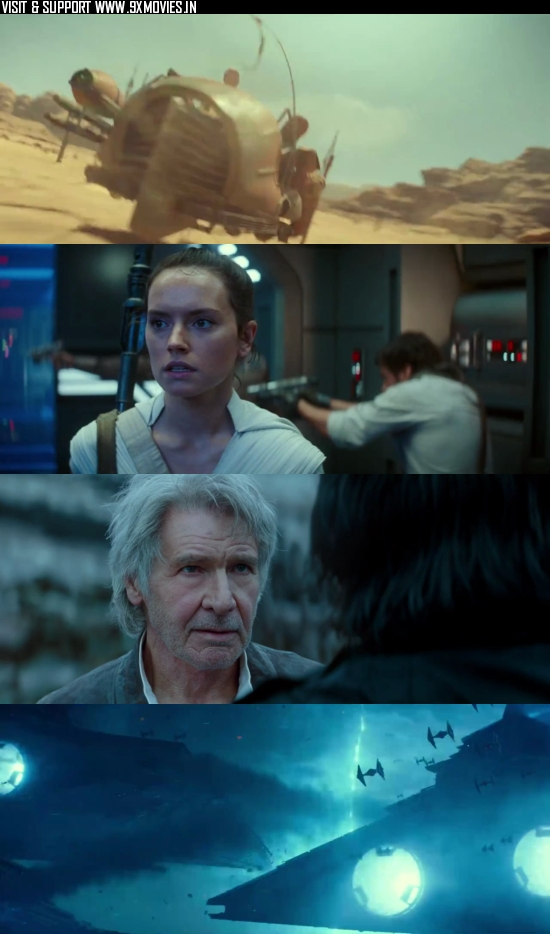 Star Wars The Rise of Skywalker 2019 Dual Audio ORG Hindi 480p WEB-DL 400MB