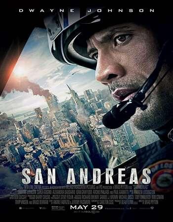 San Andreas 2015 Hindi Dual Audio BRRip Full Movie 720p Download