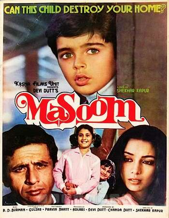 Masoom 1983 Full Hindi Movie 720p HEVC HDRip Download