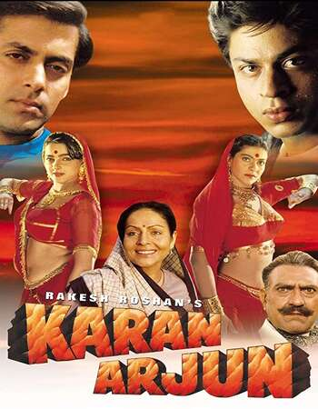 Karan Arjun 1995 Full Hindi Movie 720p HEVC DVDRip Download