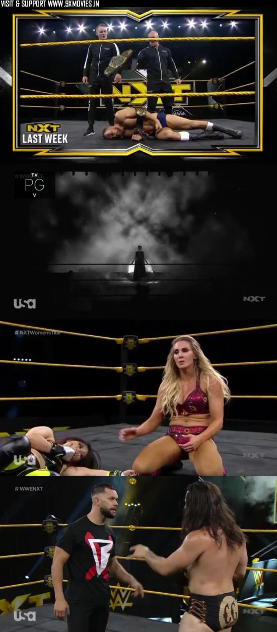 WWE NXT 06 May 2020 WEBRip 480p 300MB