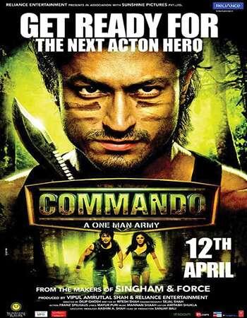 Commando 2013 Full Hindi Movie BRRip Free Download