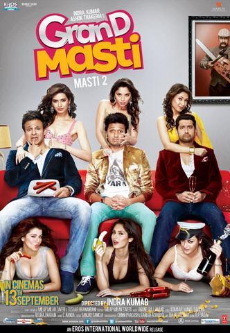 Grand Masti 2013 Hindi 480p HDRip x264 300MB ESubs