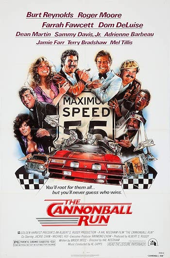 The Cannonball Run 1981 Dual Audio Hindi 720p BluRay 950mb