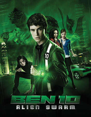 Ben 10 Alien Swarm 2009 Hindi Dual Audio BRRip Full Movie 720p Download