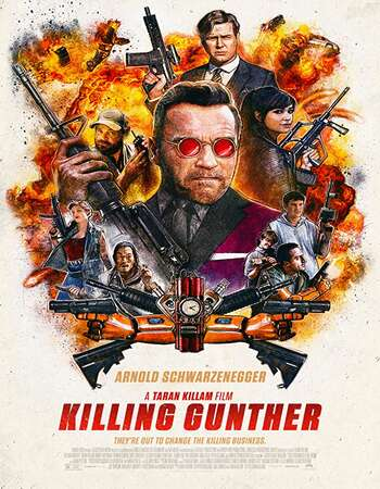 Killing Gunther 2017 Hindi Dual Audio BRRip Full Movie 720p HEVC Download