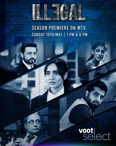 illegal 2020 Voot Hindi S01 Web Series 480p HDRip x264 900MB