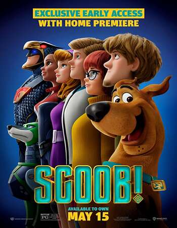 Scoob! 2020 Hindi ORG Dual Audio 500MB BluRay 720p ESubs HEVC