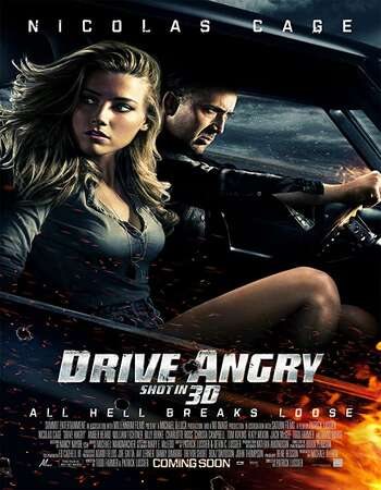 Drive Angry 2011 Hindi Dual Audio BRRip Full Movie 720p Download