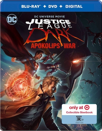 Justice League Dark Apokolips War 2020 English Bluray Movie Download