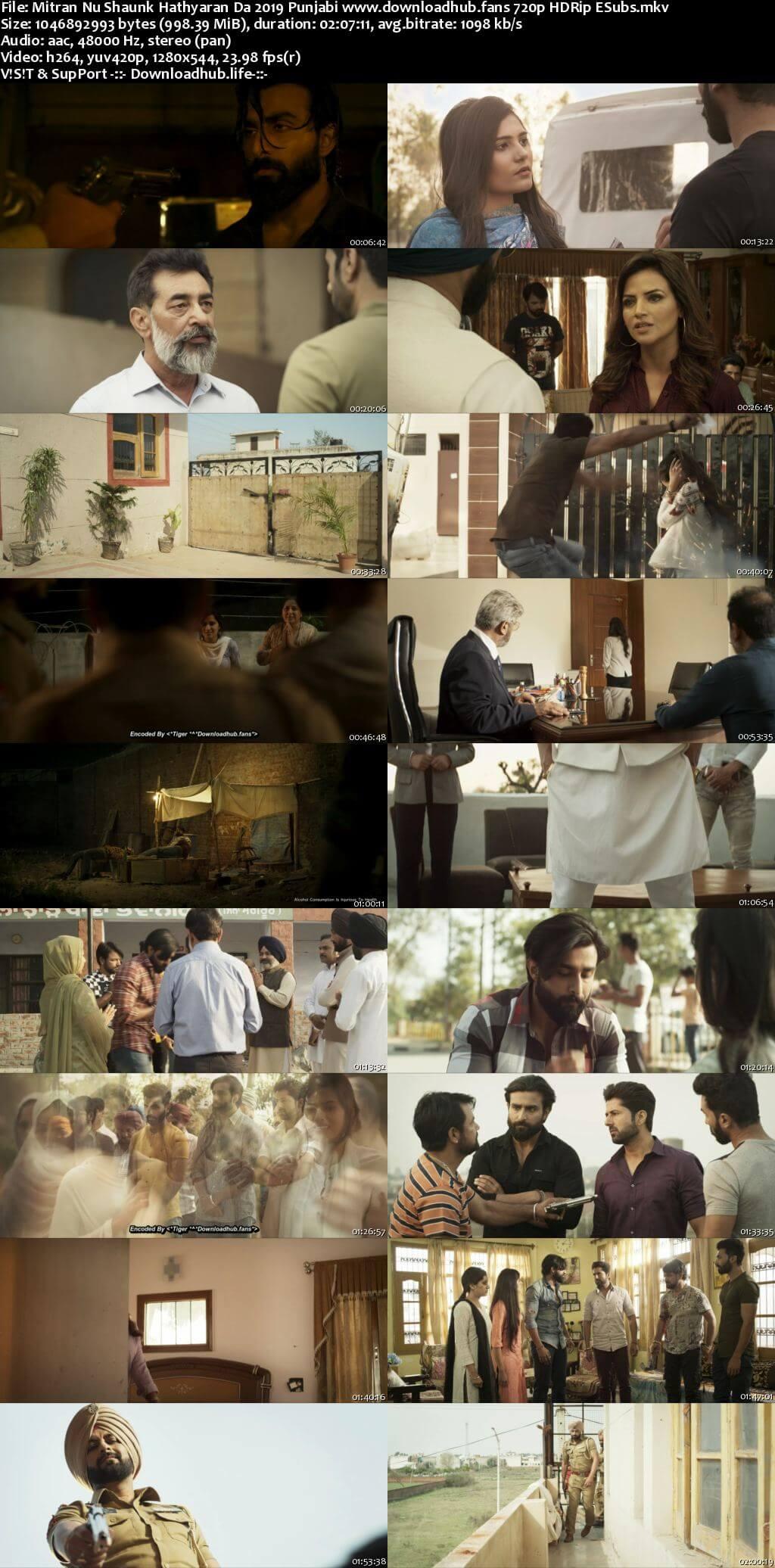 Mitran Nu Shaunk Hathyaran Da 2019 Punjabi 720p HDRip ESubs