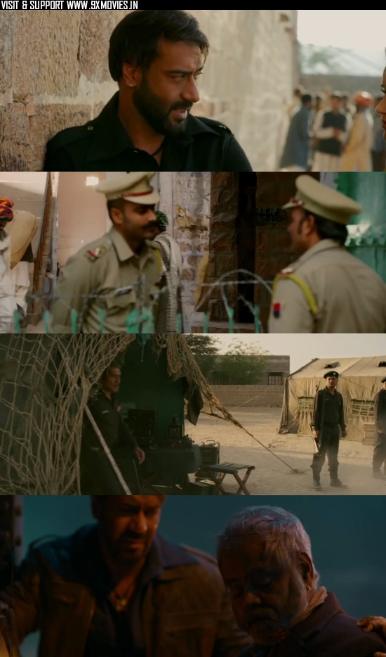 Baadshaho 2017 Hindi 480p HDRip 350MB