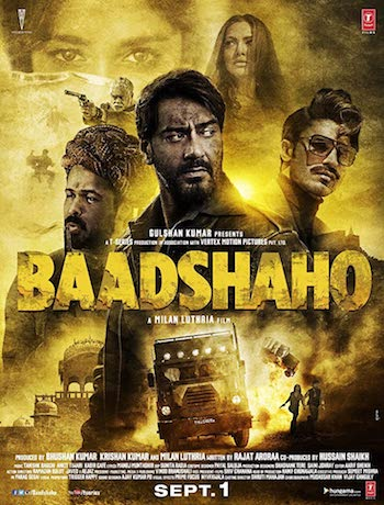Baadshaho 2017 Hindi Movie Download